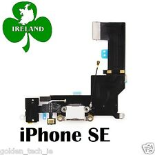 For Apple iPhone SE Micro USB Charging Port Dock Connector Flex Cable White