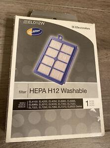 Genuine ELECTROLUX EL012W HEPA Washable S-Filter EL4000 EL5000 EL698 EL7000