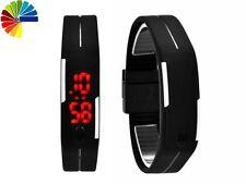 Reloj de pulsera LED, digital, silicona, reloj, Watch, reloj deportivo