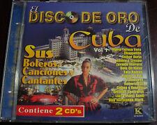 EL DISCO DE ORO DE CUBA VOL.1 SUS BOLEROS, CANCIONES Y CANTANTES-2 DISC-2000