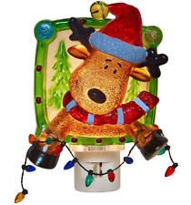 Reindeer Christmas Night Light