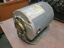 Marathon Belted Blower Motor 4UC56T34D5515B P 1.5HP 3450RPM 5-5/2.5A 3Ph Used