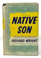 Richard Wright - Native Son - 1st 1st 1st with Original Dust Jacket - NR