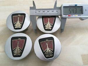 Set of 4 Rover 54mm wheel  centre caps  DTC10053  DTC10054  # JL261