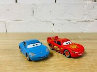 Sally Carrera & Lightning McQueen Die Cast Diecast Lot Pixar Cars