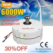 Wind Turbine Generator 6000W 24V Motor Controller 3 Phase Current Brushless 2021