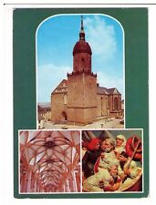 Postcard: Multiview - St Annenkirche, Annaberg, Germany