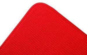 Fox Run, Drying Mat Envision Dish Red