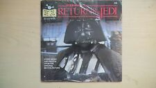 Star Wars RETURN OF THE JEDI Record & Book 1983 SEALED