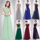 Elegant Lace Bridesmaid Dresses Chiffon Evening Party Formal Prom Gowns 09993