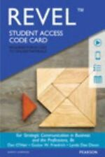 STRATEGIC COMMUNICATION IN BUSINESS AND THE PROFESSIONS REVEL ACCESS CODE