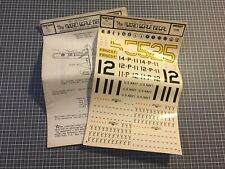 Krasal Industries Decals Abziehbilder PBY Catalina / Maßstab 1:72
