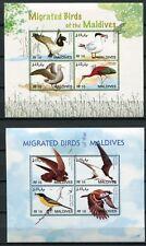 MALEDIVEN MALDIVE 2006 Vögel Birds Uccelli Oiseaux 4566-4577 + Block 605-607 **