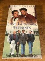 The Lost Language Of Cranes  VHS VCR Video Tape Movie Corey Parker Used