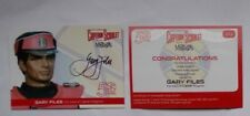 Captain Scarlet 50 Years - Unstoppable - GARY FILES Autograph Card GF4 Magenta