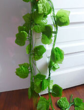 Artificial Hangings Set of 12 The Grape Leaf Vines Wedding Wall Decoration