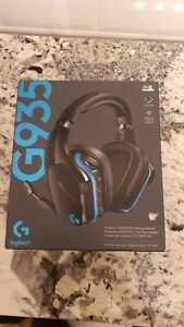 Logitech G935 Wireless 7.1 Surround Gaming headset - Black ( New, never used)