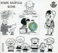 Spain 2017 MNH Quino Graphic Humour 1v M/S Cartoons Stamps