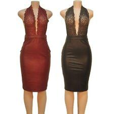 Unbranded Lace V-Neck Sleeveless Dresses for Women