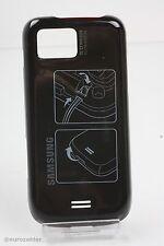 ORIGINALE Samsung s8000 Jet Nero Cover Posteriore Batteria Coperchio scomparto batteria cover BL...