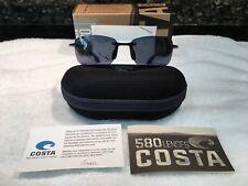 824b7d9c78 Costa Ballast Black w Grey 580P lens NEW Sunglasses (BA11 OGP)