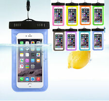 Waterproof Phone Case Bag Crystal Clear Window Both Sides Secure Locking Seal GN