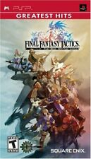 Final Fantasy Tactics The War of the Lions Sony PSP PlayStation Portable