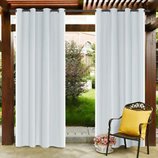 Waterproof Outdoor Curtain Blackout Window Porch Patio Thermal Insulated Panels