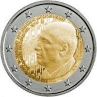 *GRECIA 2016  2 EURO 120° NASCITA DIMITRI MITROPOULOS FDC LEGGI L'INSERZIONE