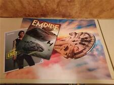 EMPIRE JUNE 2018 - SOLO: A STAR WARS STORY + BOOKLET & POSTER - LIMITED EDTN VGC