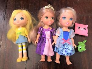 STRAWBERRY SHORTCAKE Lemon Meringue CINDERELLA Petite Princess RAPUNZEL Pascal