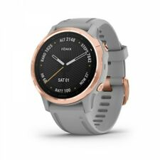 Garmin fenix 6s Sapphire Rose Gold-tone with Powder Gray Band 010-02159-20