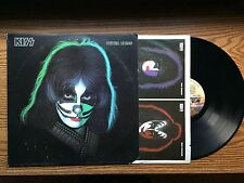 KISS PETER CRISS WITH EXTRAS LP RECORD ALBUM ITEM #1576-20