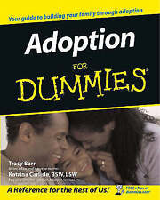 (Good)-Adoption For Dummies (Paperback)-Barr, Tracy-0764554883