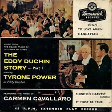 "Carmen Cavallaro The Eddy Duchin Story - Part 1 Tri centre UK 45 7"" EP"