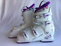 Nordica GP TJ Kids Ski Boots Size 26.5 Youth New in Box White Purple