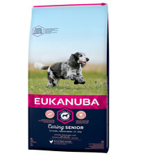 EUKANUBA 15 kg Mature Senior Medium cibo per cani per anziani cani medi