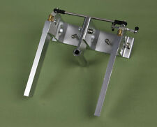 """Aluminium Twin Rudder with Strut and water pick up for 1/4"""" 6.35mm Shaft RC Boat"""