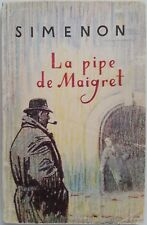 Cru Français Livre Georges Simenon Commissaire Maigret 1966 La pipe de Maigret