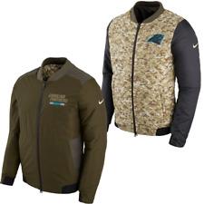 CAROLINA PANTHERS 2017 NFL Salute to Service Nike Reversible Bomber Jacket  LRG