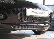 Mazda MX-5 NC Edelstahl Kühlergrill  2005-2009 Kühlergitter Frontgrill - schwarz