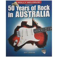 Molly Meldrum Presents 50 Years of Rock in Australia by Jeff Jenkins, Australian