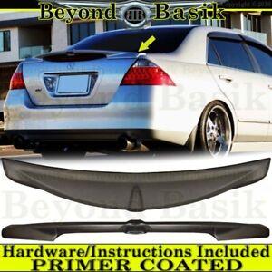 2006-2007 Honda Accord 4dr Sedan Factory Style JDM Lip Spoiler Wing PRIMER