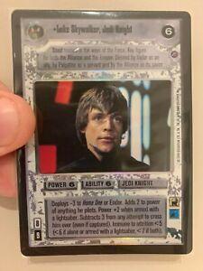 Star Wars CCG Luke Skywalker, Jedi Knight Ultra Rare (UR) FOIL Reflections 2