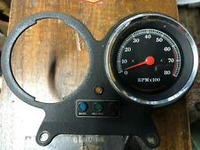HARLEY-DAVIDSON XL,FXR, FX,DYNA REV COUNTER WORKING WITH BRACKET AND LIGHT BOX 7