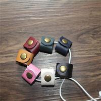 Useful Earphone Organizer Wrap Holder Earbud Headphone Cable Cord Winder Tools