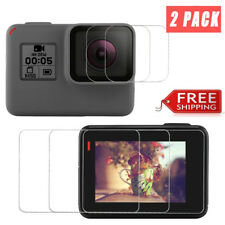 2X Gopro HERO 6 Sport Camera Screen & Lens Protector Tempered Glass Film Cover