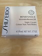 Shiseido Benefiance WrinkleResist 24 Night Cream  50ml / 1.7 oz Sealed! New!