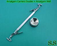 Amalgam Carriers Double + Amalgam Well Dental Medical Surgical Instrumentss
