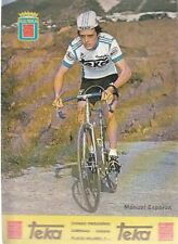 MANUEL ESPARZA Cyclisme ciclismo Cycling TEKA 79 Tour de France vélo Radsport